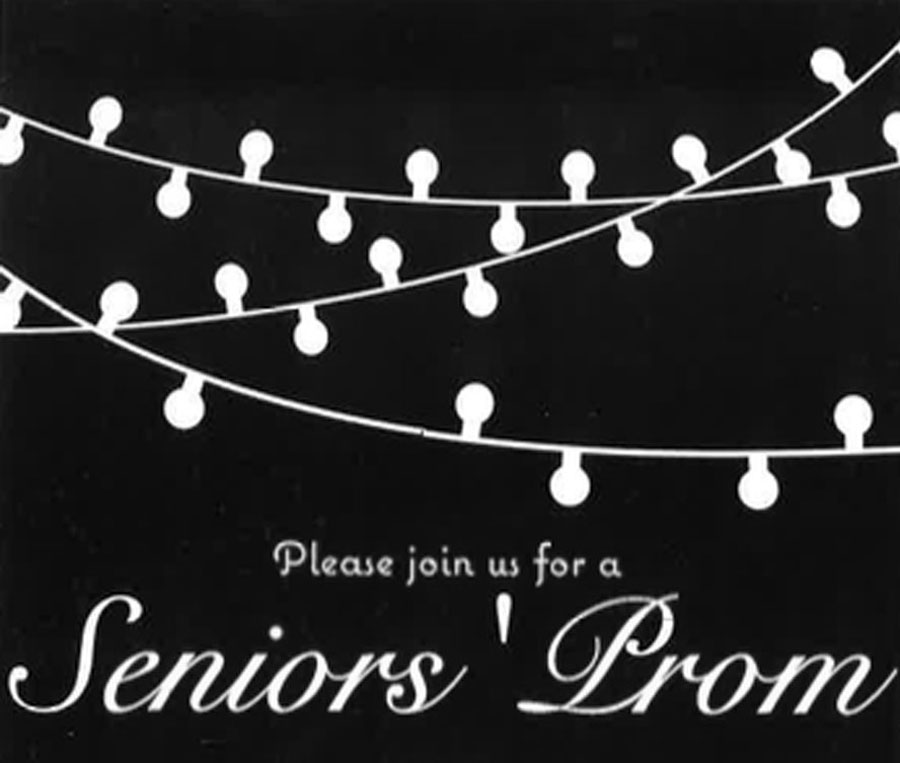 Join Us for Our Seniors' Prom