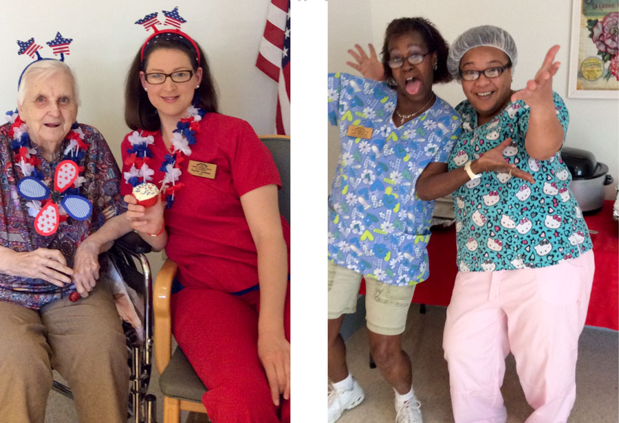 National Nursing Home Week Festivities