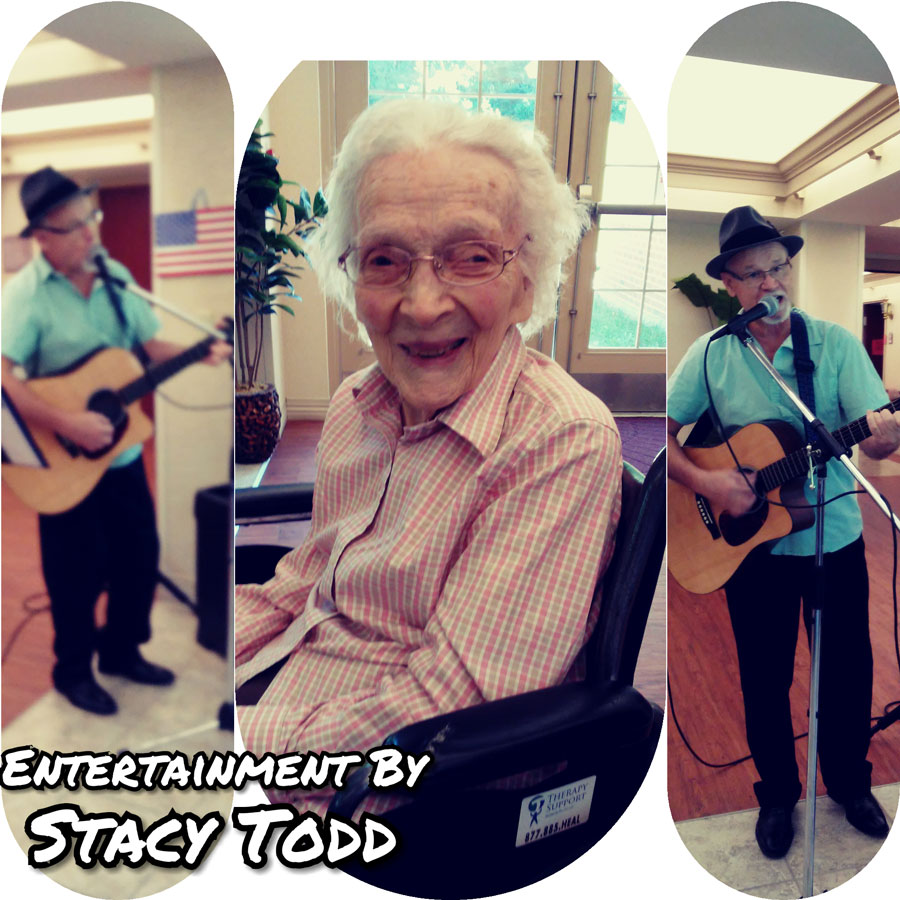 Stacy Todd Entertains