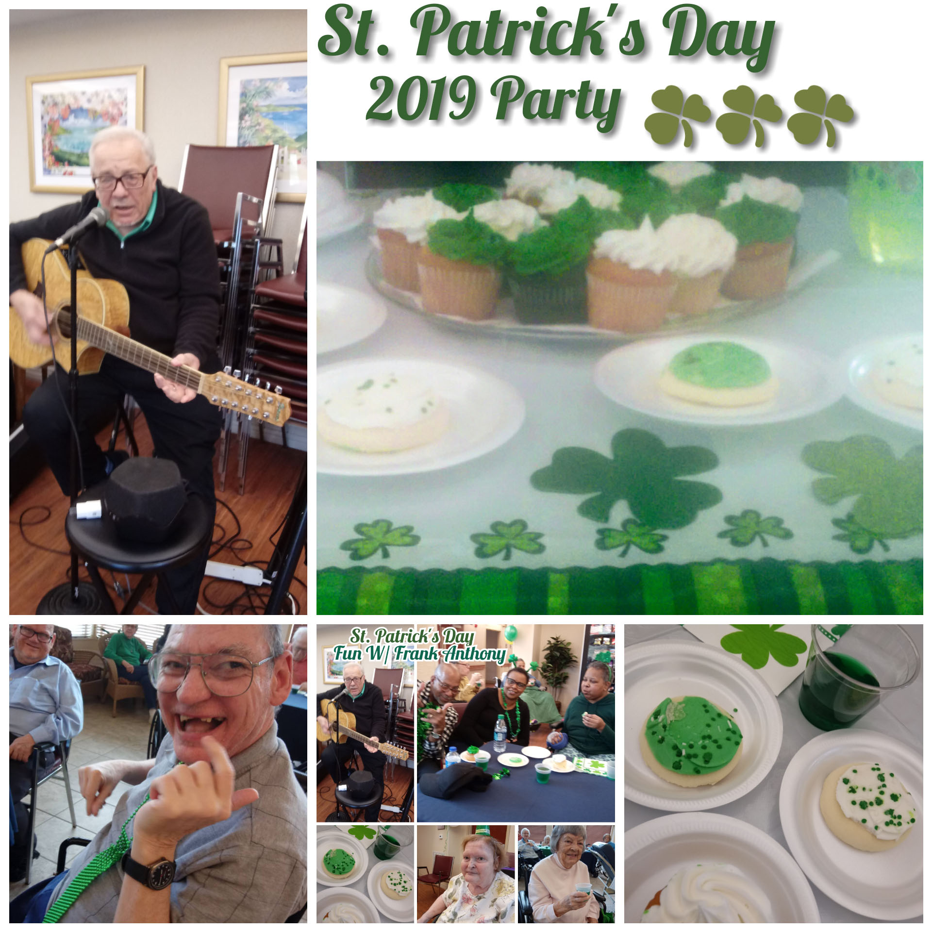 St. Patrick's Day with Frank Anthony