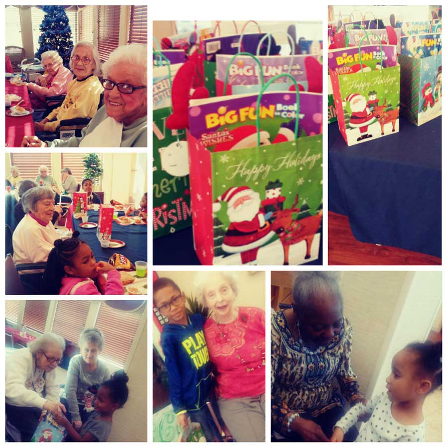 Christmas Luncheon With Local Day Care